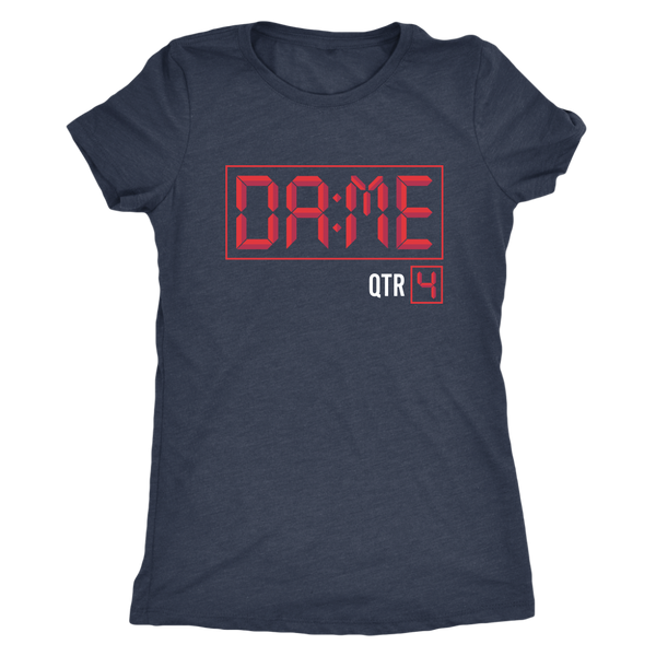 DAME time Triblend Womens T-Shirt