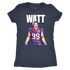 JJ Watt Pop Art Women's Triblend T-Shirt