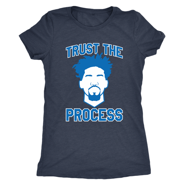 Embiid Trust The Process Women's Triblend T-Shirt
