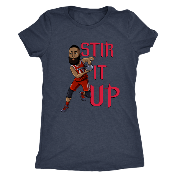 James Harden 'Stir It Up' Women's Triblend T-Shirt