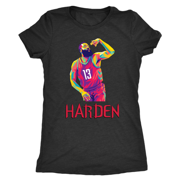 Harden Pop Art Women's Triblend T-Shirt