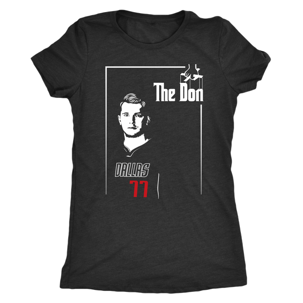 "Luka ""The Don"" Doncic Women's Triblend T-Shirt"