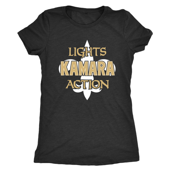 Lights, Kamara, Action Women's Triblend T-Shirt