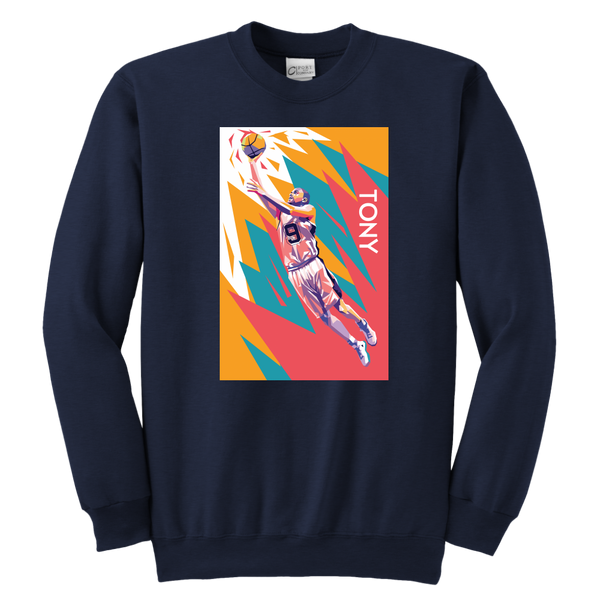 Tony Parker Pop Art Youth Sweatshirt