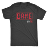 DAME time Triblend T-Shirt