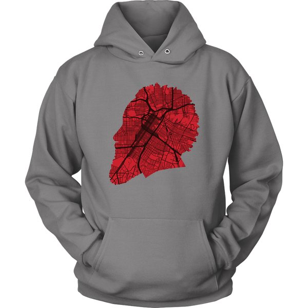 Harden Houston Map Silhouette Hoodie