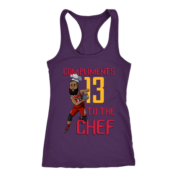 James Harden 'Compliments to the Chef' Racerback Tank