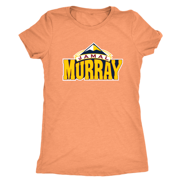 Jamal Murray New Color Logo Women's Triblend T-Shirt