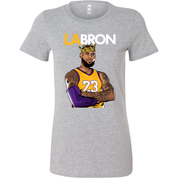 LA-BRON Lebron Graphic Women's T-Shirt