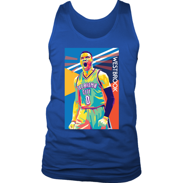 Russell Westbrook Pop Art Tank