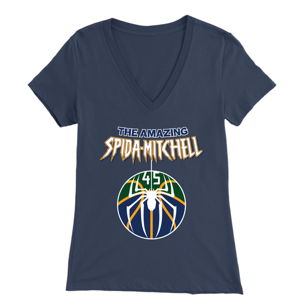 The Amazing Spida-Mitchell Women's V-Neck