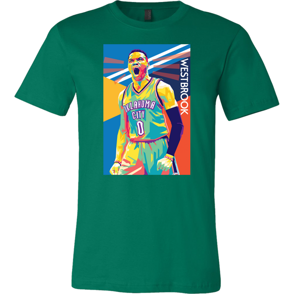 Russell Westbrook Pop Art  T-Shirt