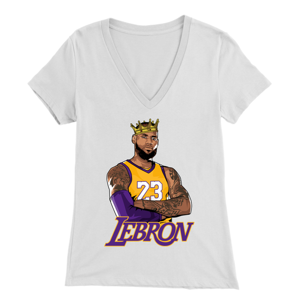 Lebron Logo Women's V-Neck