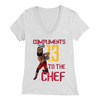 James Harden 'Compliments to the Chef' Women's V-Neck