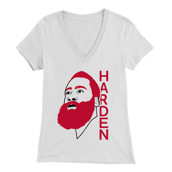 Harden Line Art Women's V-Neck