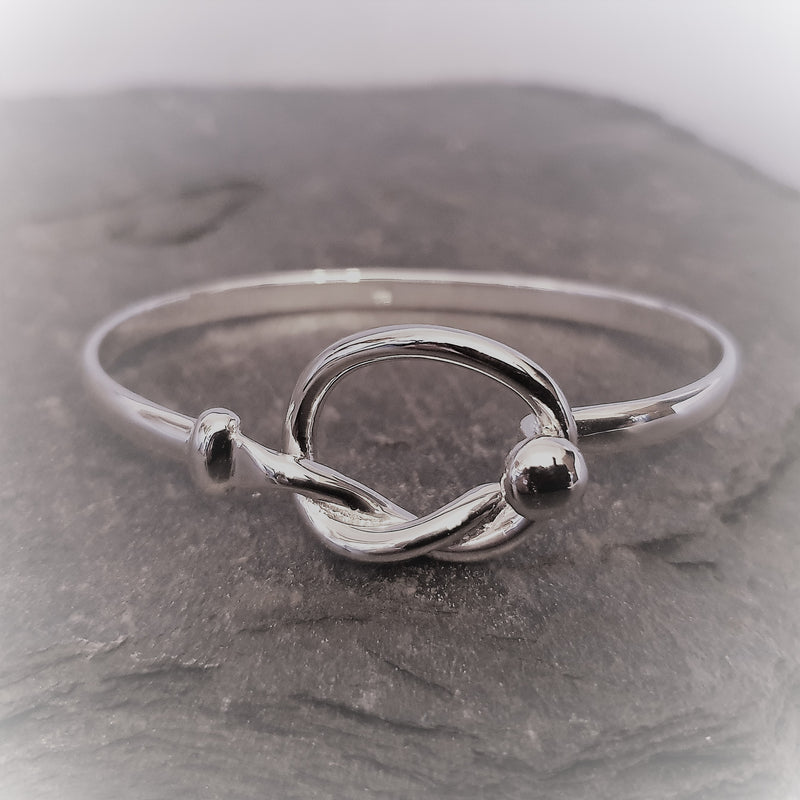 Silver Staffordshire Knot Bangle