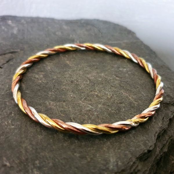 Tri Colour Bangle