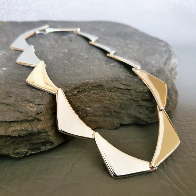 Triangle Flat Necklace