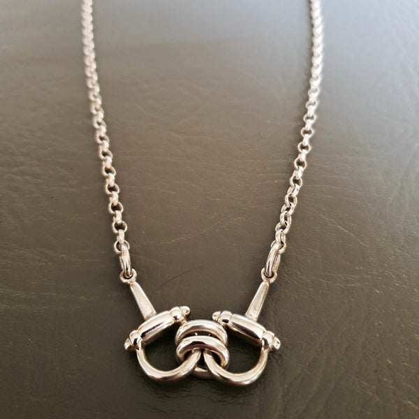 Chunky Snaffle Necklace
