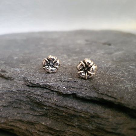 Etched Large Studs