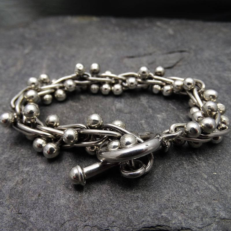 Heavy Ball Bracelet