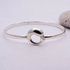 Circle Feature Bangle