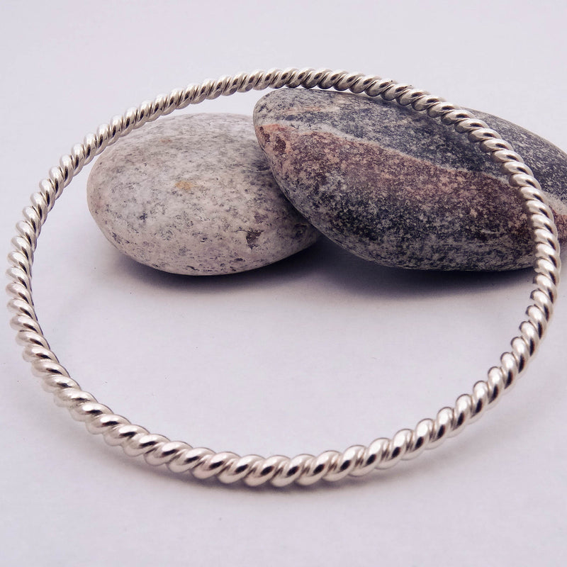 Tight Twist Bangle