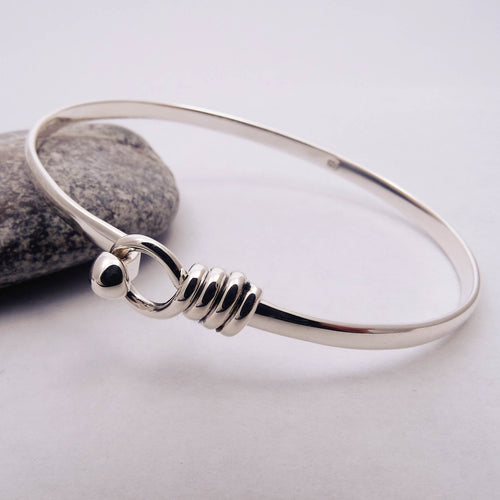 Triple Wrap Open Bangle Heavier