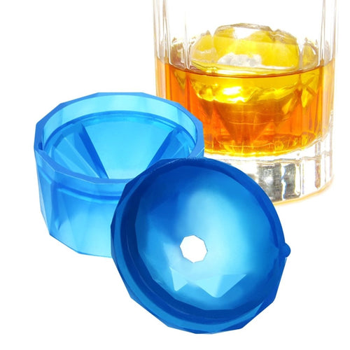 Large Diamond Ice Cube Mould Add Sparkle n Shine to your Drinks