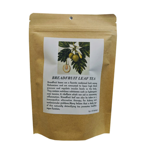 100% Natural Breadfruit Leaf Tea 2g x 30 Teabags