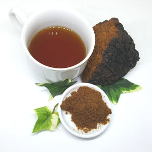 Wild Birch Fungus Chaga Powder 100% Natural Premium Grade