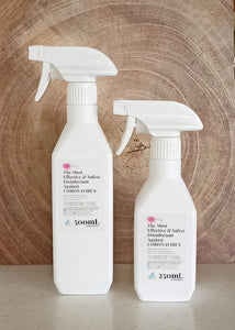 Pink-Oxy Eco-Friendly Surface Disinfectant & Hand Sanitizer