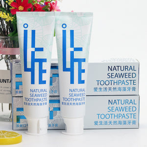 Natural Seaweed Toothpaste Healthy & Whitening Fluoride Free