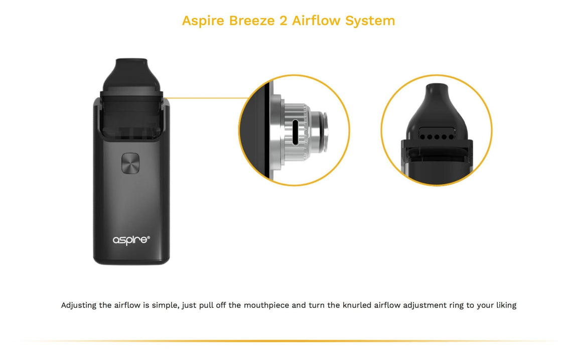 Aspire Breeze 2 AIO Pod Starter Kit - Clearance - WholesaleVapor.com