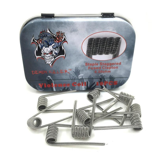 Demon Killer Prebuilt Coil Packs (10 per pack) - Vapor King