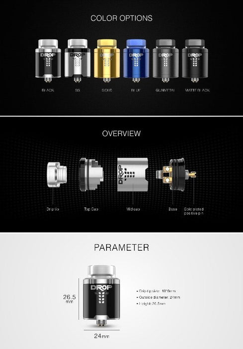 Digiflavor Drop RDA - WholesaleVapor.com