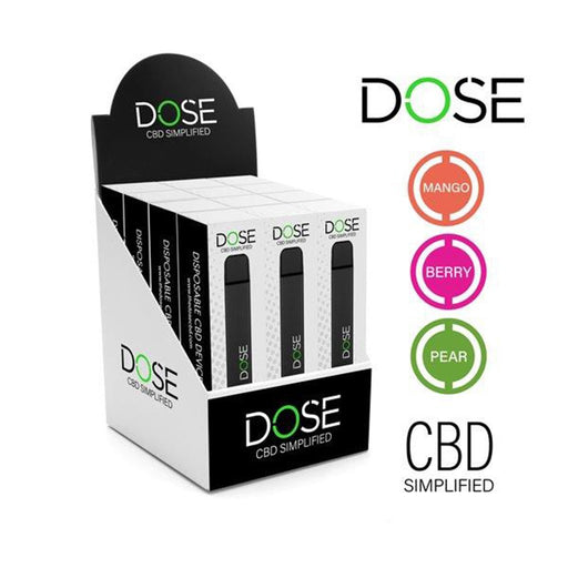 DOSE Full Spectrum Disposable CBD Vape Pen - Single - WholesaleVapor.com