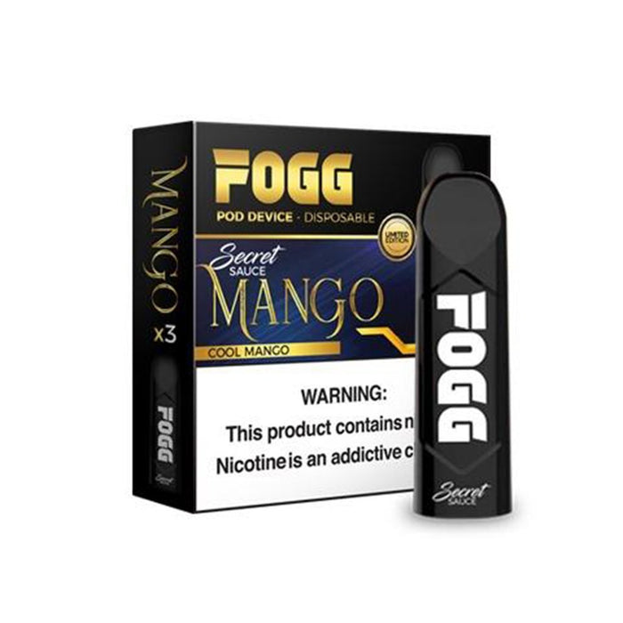 FOGG Vape Disposable Pod Device ( 3 Pack) - WholesaleVapor.com