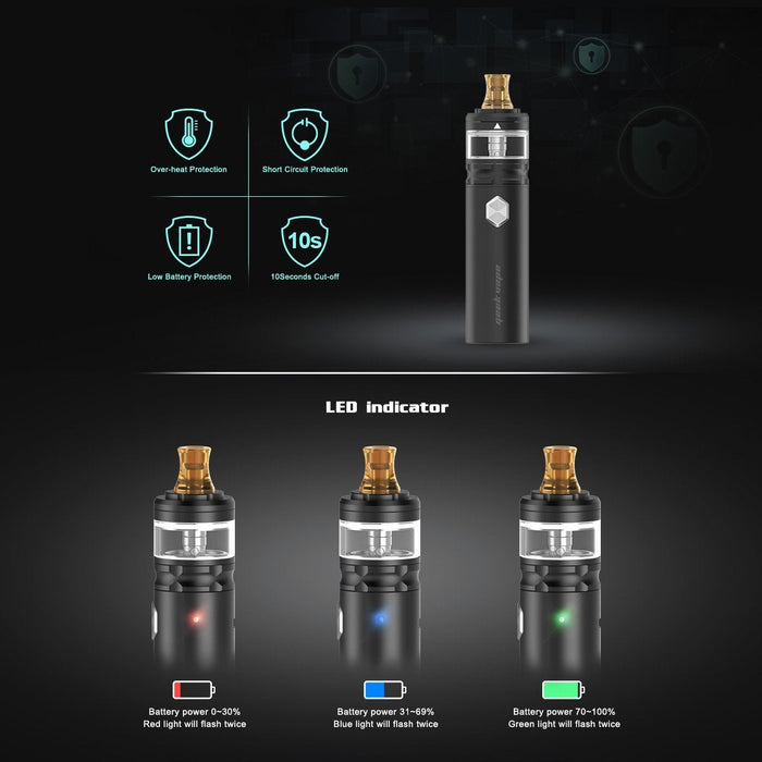 Geek Vape Flint Starter Kit - Clearance - WholesaleVapor.com