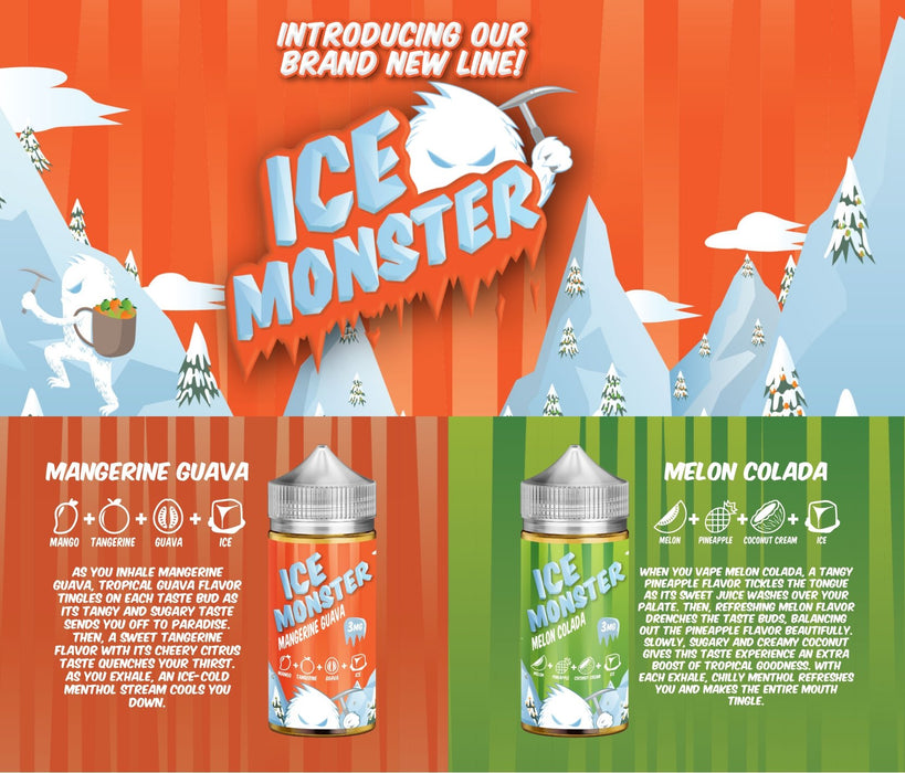 Ice Monster 100ml - WholesaleVapor.com