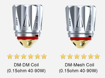 Ijoy Diamond DM Replacement Coils (3 Pack) - Vapor King