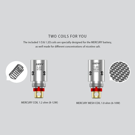 Ijoy MERCURY Replacement Coils- 5 Pack - Clearance - WholesaleVapor.com ?id=15604889288757