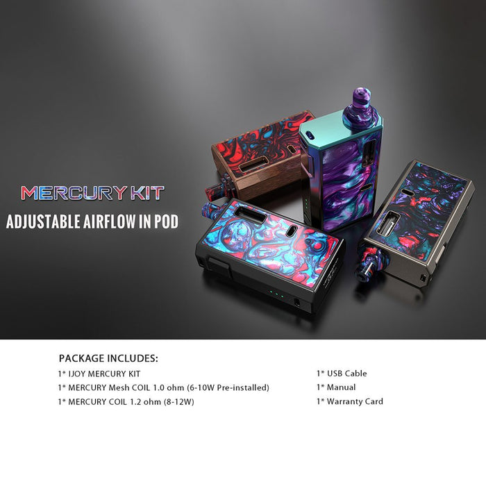 Ijoy MERCURY Starter Kit - Clearance - WholesaleVapor.com