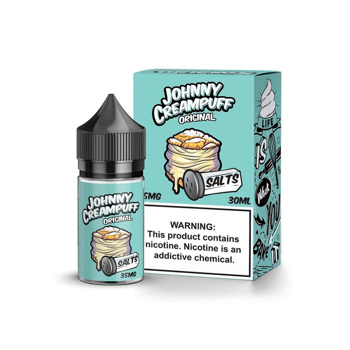 Johnny Creampuff Salts 30mg - 30ml - Vapor King