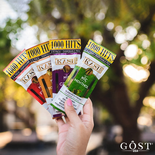 KASH Disposable Vape Pen by Gost Vapor - 2 Pack - Vapor King