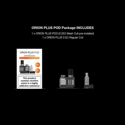 Lost Vape Orion PLUS Replacement Pod w/ Coils - WholesaleVapor.com