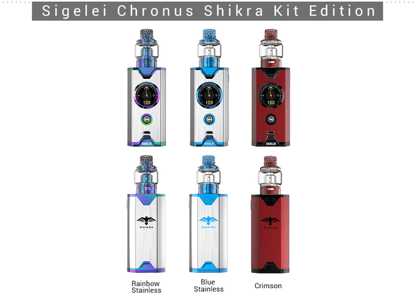 Sigelei Chronus Shikra Edition Starter Kit - Vapor King