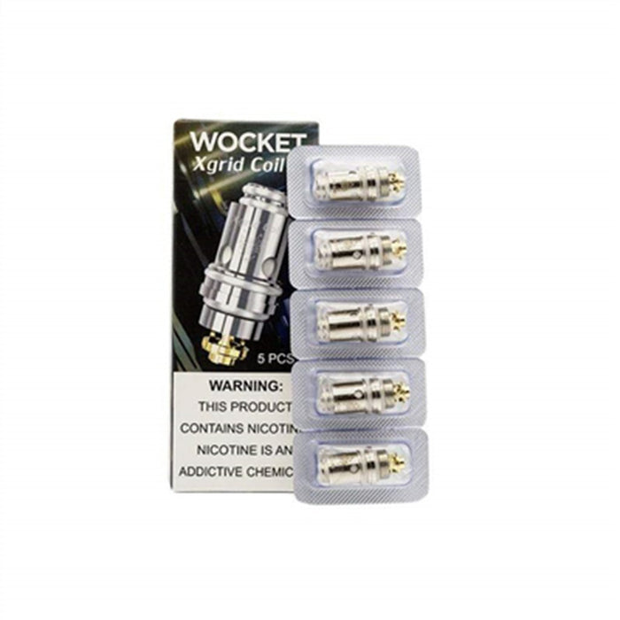 Sigelei SnowWolf WOCKET Replacement Coils (5 pack) - Vapor King