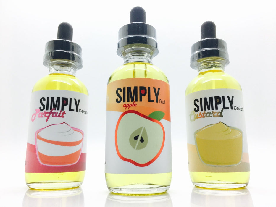 Simply Eliquid 60ml - Vapor King