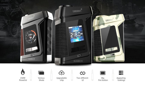 Smoant Ranker TC 218W Box Mod - WholesaleVapor.com